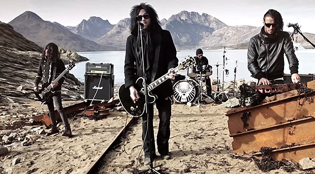 The Defiled y el vídeo de 'Five Minutes'