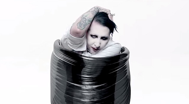 Nuevo vídeo de Marilyn Manson 'Deep Six'