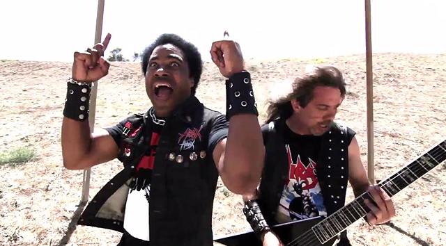 Hirax y el vídeo de 'Hellion rising'