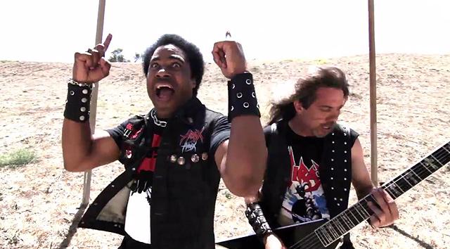 Hirax y el vídeo de 'Hellion rising'