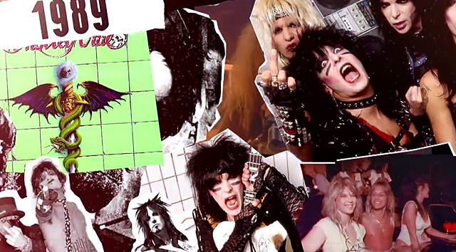 Nuevo vídeo de Mötley Crüe 'All Bad Things'