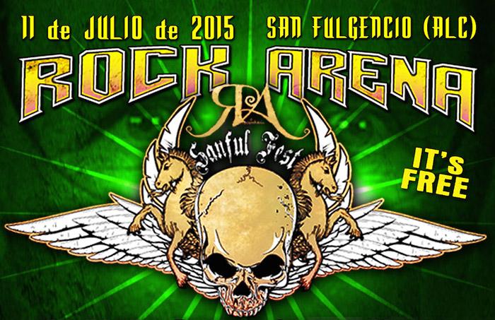 Rock Arena 2015 será gratis un año más y anuncian su primera confirmación, Death Angel