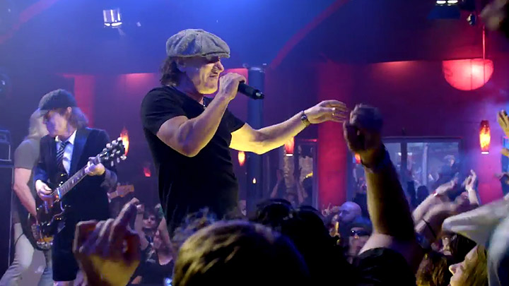 AC/DC y el vídeo de 'Rock the blues'