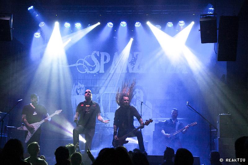 Crónica y fotos de Sparzanza en la Sala Rock City (Valencia)