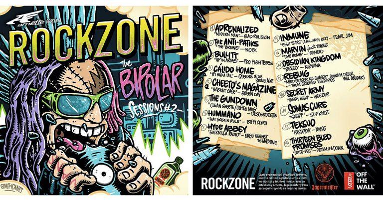 RockZone lanzan su 'Bipolar Sessions 2' repleto de versiones de exclusivas