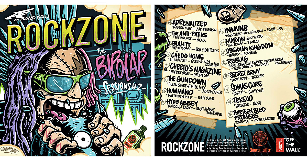 RockZone lanzan su 'Bipolar Sessions 2' repleto de versiones de exclusivas