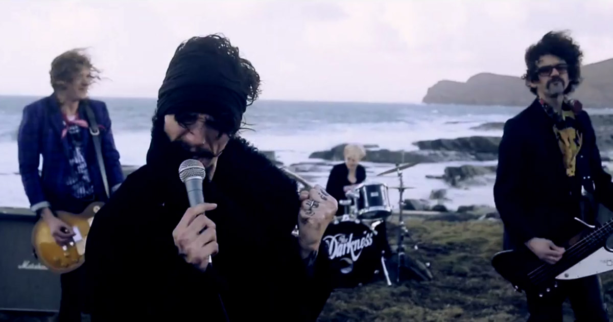 The Darkness y el vídeo de 'Open Fire'