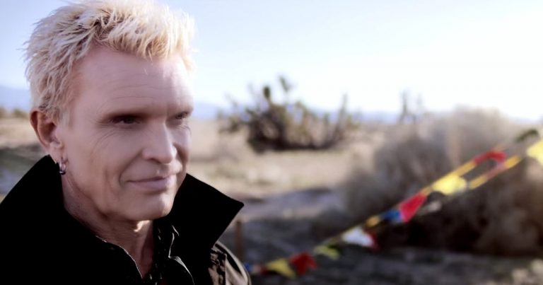 Nuevo vídeo de Billy Idol 'Save Me Now'