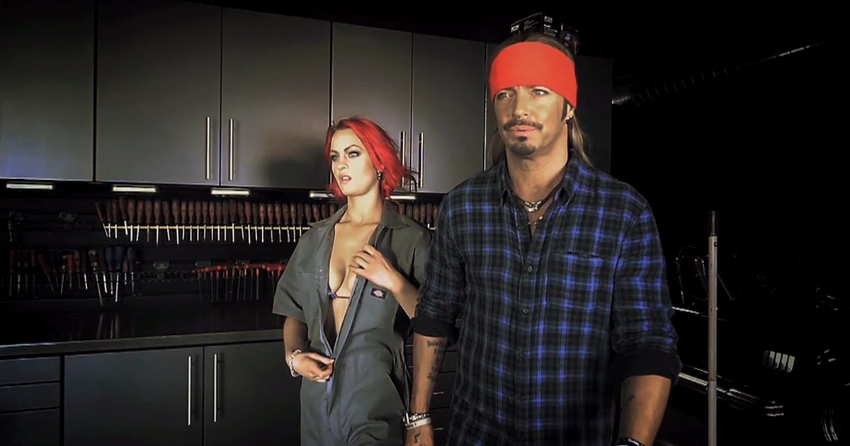 Nuevo vídeo de Bret Michaels 'Girls on Bars'