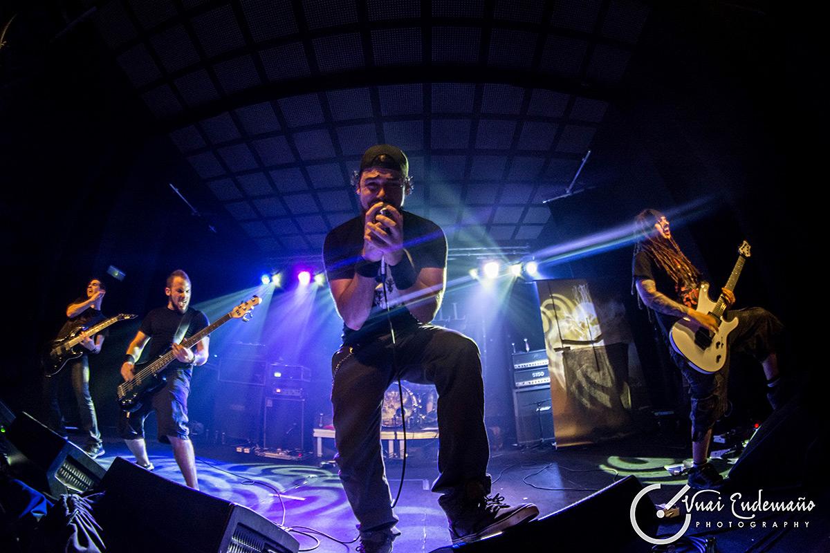Rise To Fall + Black Ocean Witness + Late to Scream en Bilbao
