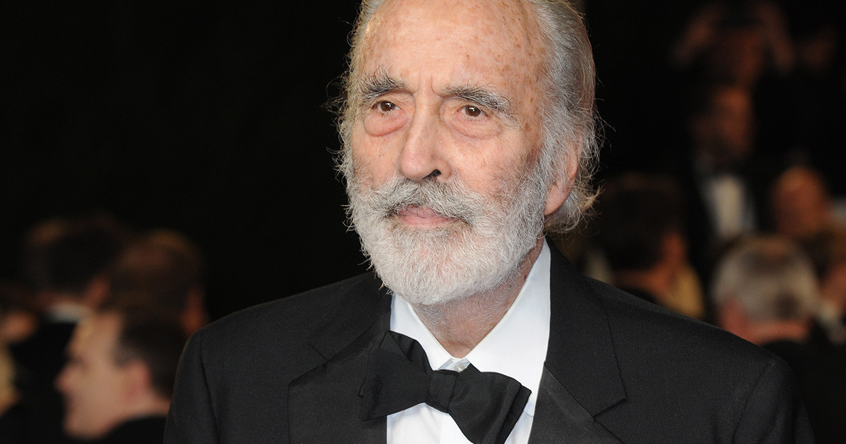 Fallece Sir Christopher Lee a los 93 años