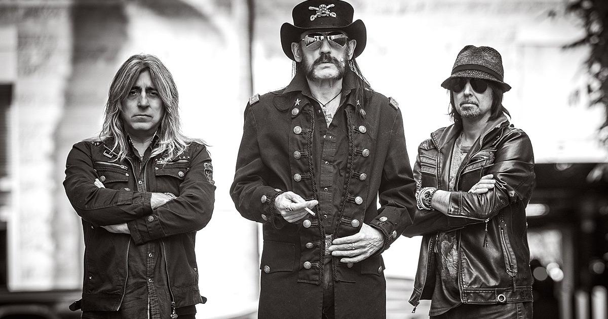 Motörhead anuncian nuevo disco y gira por su 40 aniversario