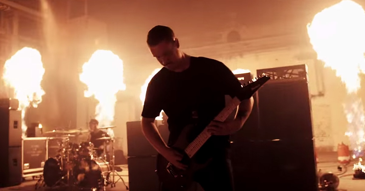 Thy Art is Murder y el vídeo de 'Light Bearer'
