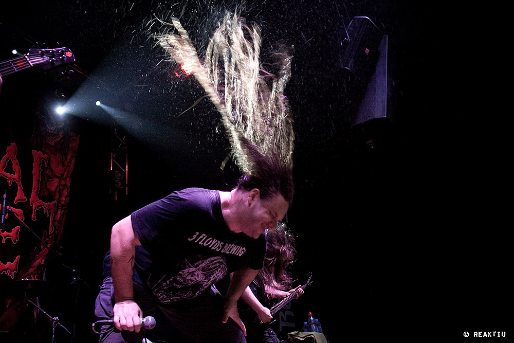Cannibal Corpse y Suicide Silence en la Sala Rock City (Valencia)