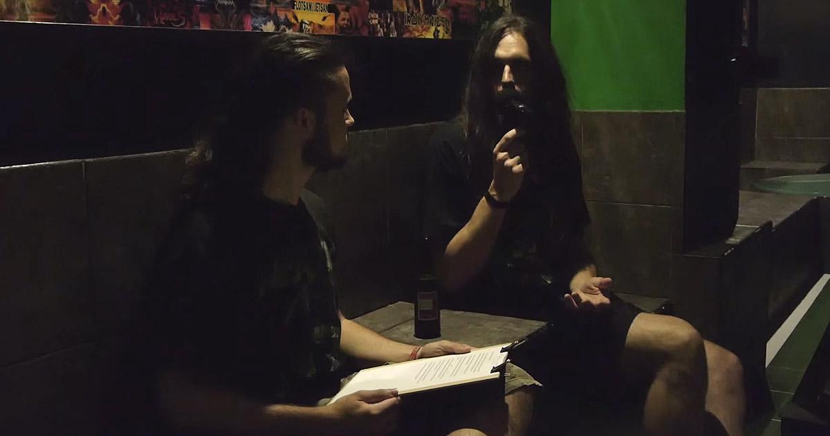 Entrevista en vídeo con Ekaitz Garmendia (Legen Beltza, Clockwork)