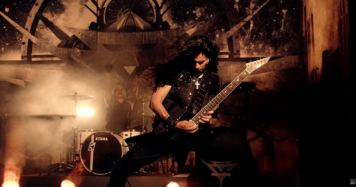 Gus G. y el vídeo de 'Brand New Revolution'