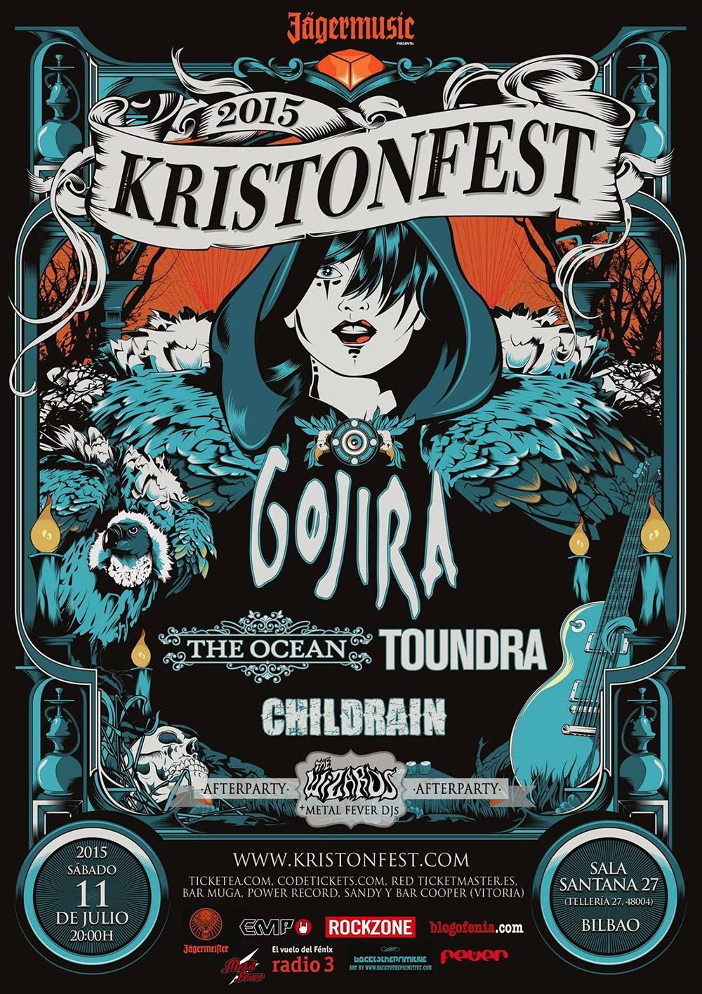 Se acerca el Kristonfest 2015: Cartel, horarios, entradas, etc...