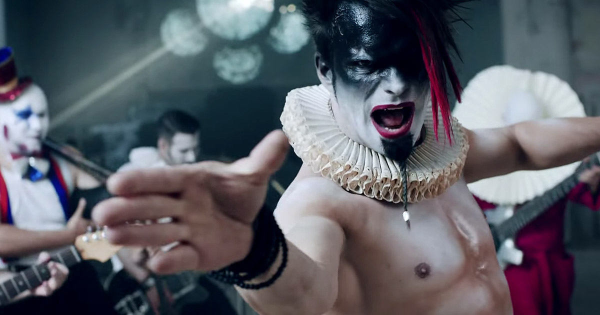 Saltatio Mortis y el vídeo de 'Wo sind die Clowns?'