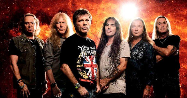 Ya se puede escuchar el nuevo single de Iron Maiden, 'Speed of light'