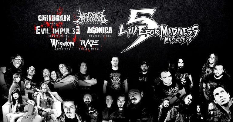 Entrevista con todos los grupos del Live For Madness Metal Fest 2015