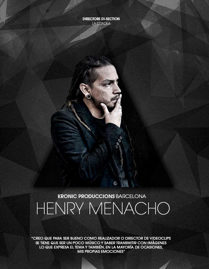 Henry Menacho, director en Kronic Produccions