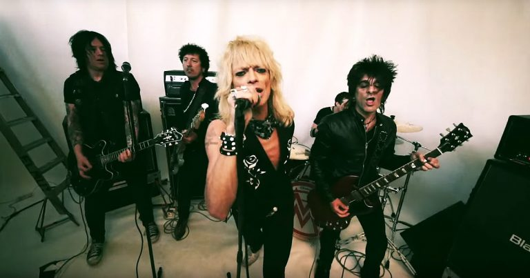 Michael Monroe y el vídeo de 'Old King's Road'