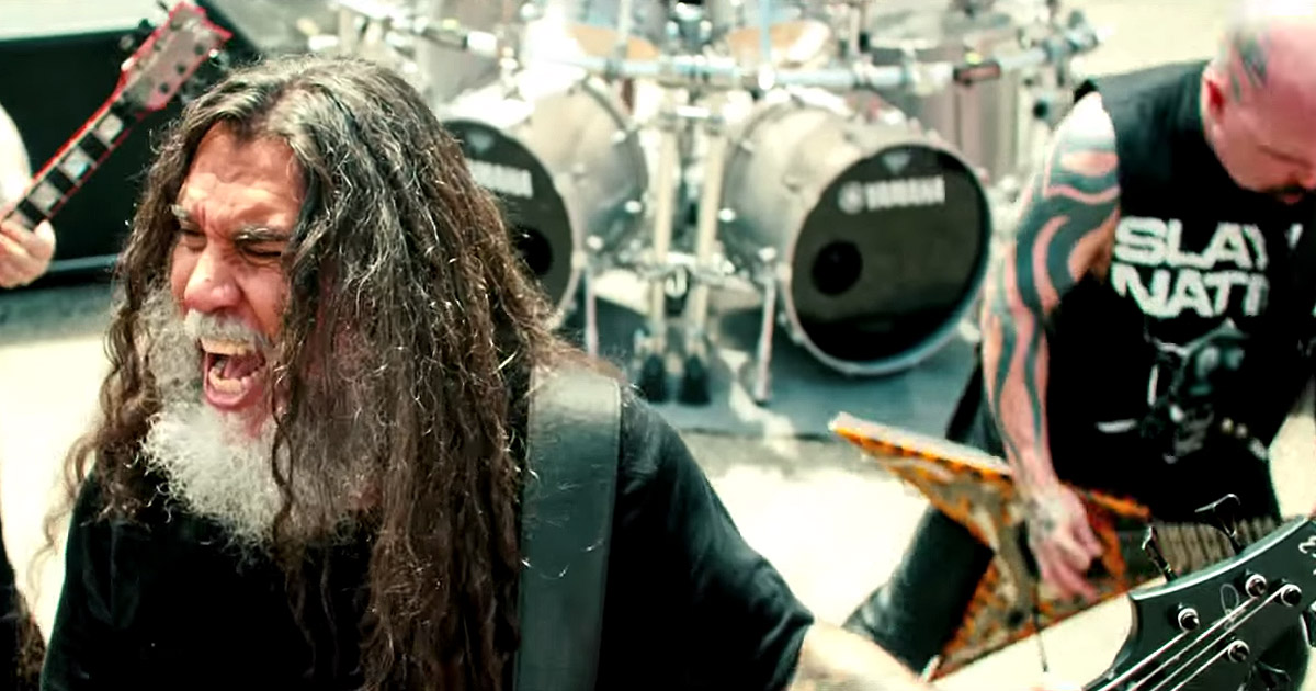 Slayer y el vídeo de 'Repentless'