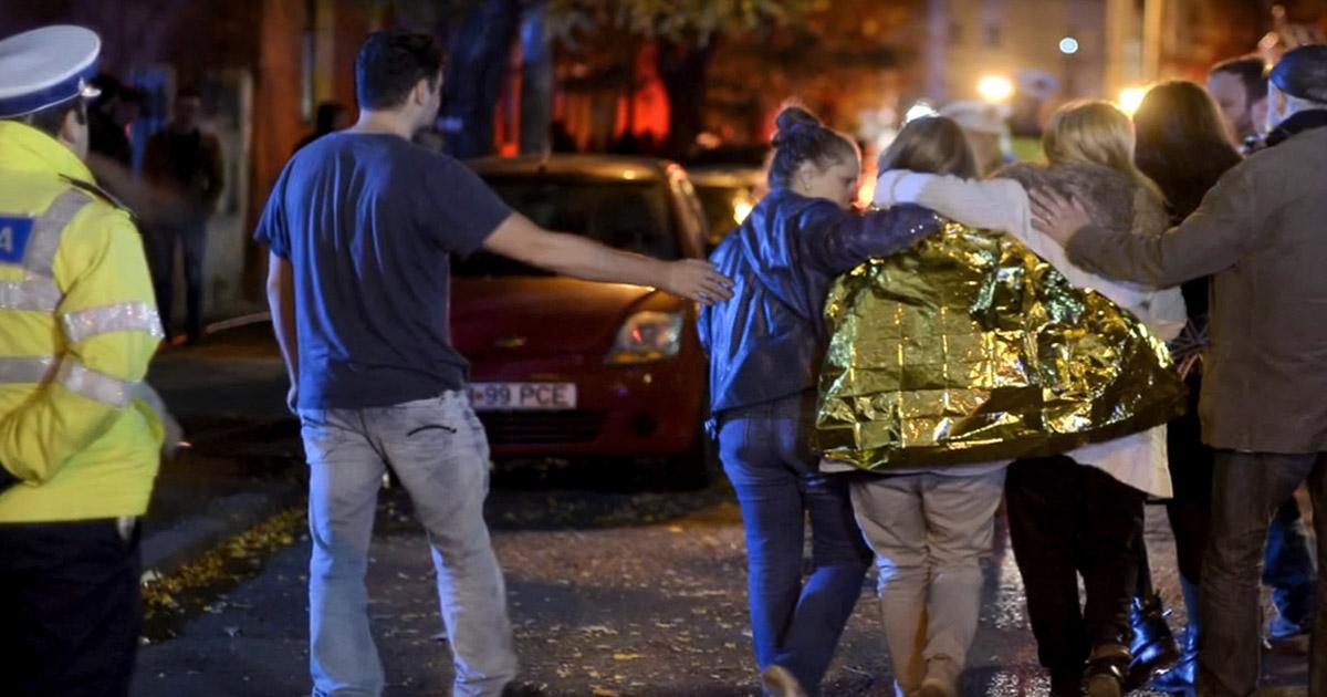 27 fallecidos en un concierto en Bucarest