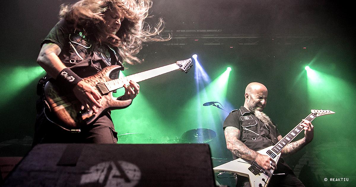 Anthrax y Angelus Apatrida en Valencia