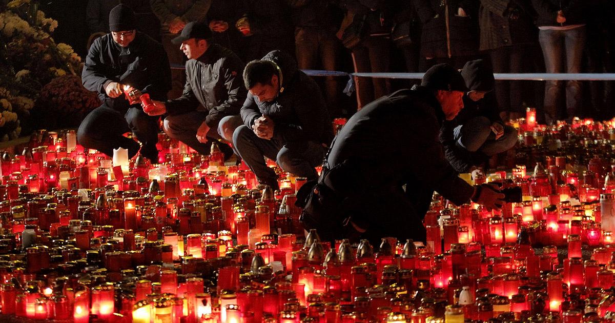 Aumenta a 45 el número de fallecidos en el incendio de Bucarest