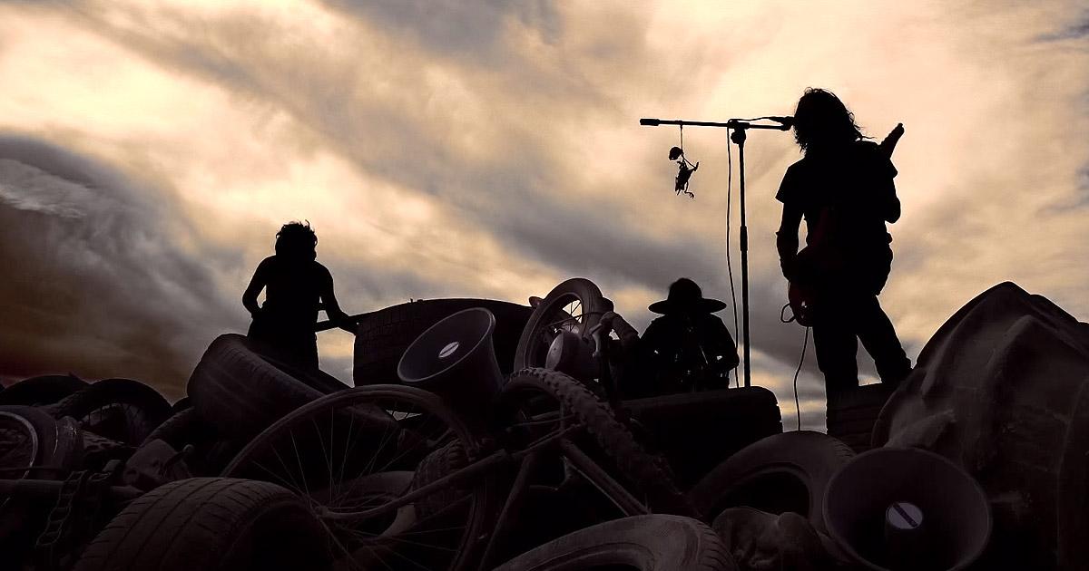 Ciclonautas y el vídeo de 'Bienvenidos los Muertos'