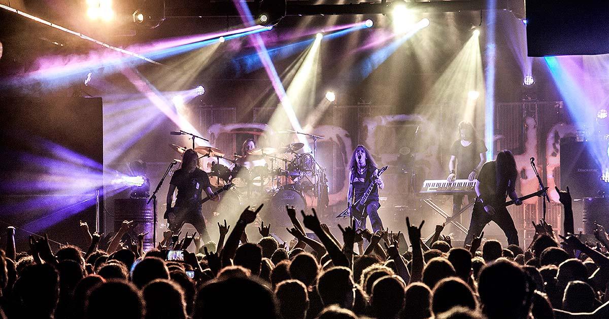 Children of Bodom y Sylosis en la Sala Repvblicca, Valencia