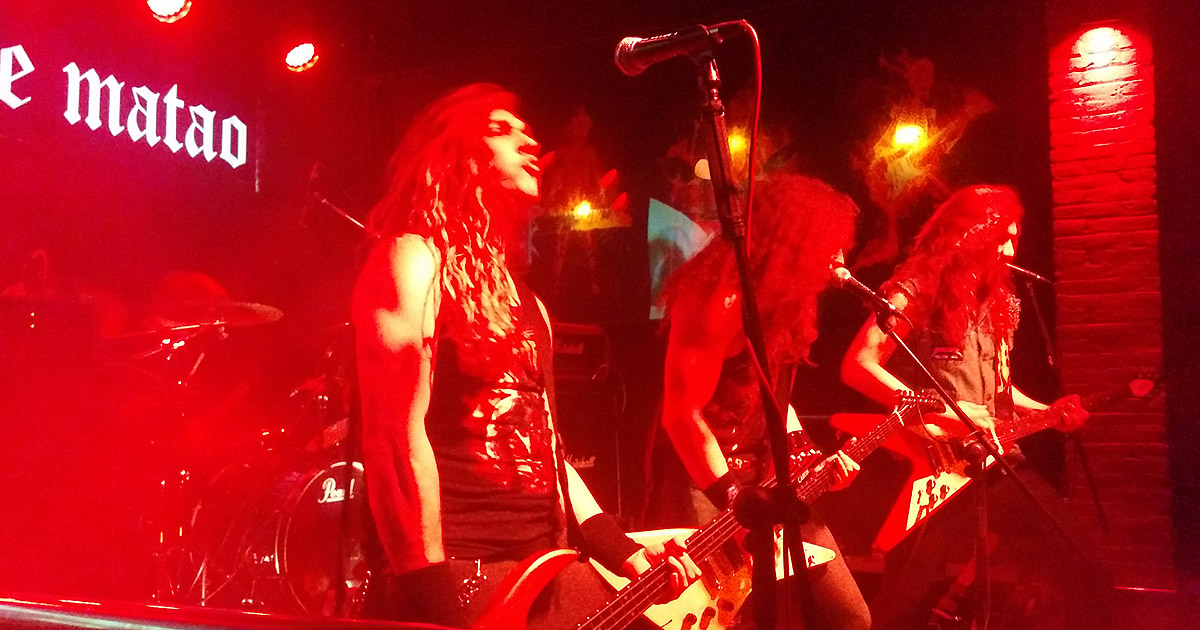 Crónica Lich King, Impalers, Sons Of The Beast y Maniac Forces en Valencia