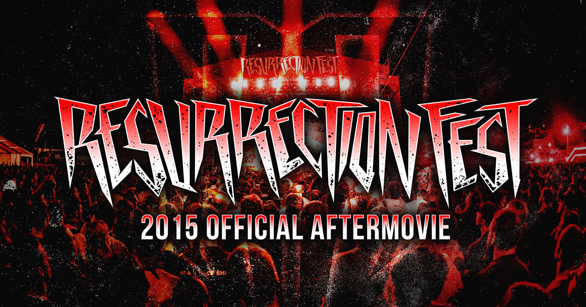 El Resurrección Fest anuncia fechas para el 2016 y estrena el Aftermovie