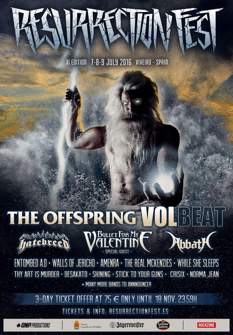 El Resurrection Fest 2016 anuncia sus primeros grupos confirmados