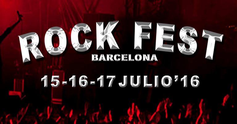 El Rock Fest BCN pone a la venta los primeros abonos...