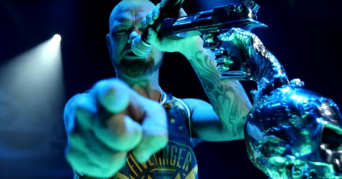 Five Finger Death Punch y el vídeo de 'Wash It All Away'
