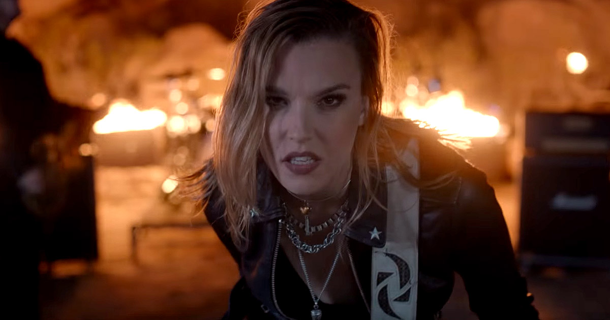 Halestorm y el vídeo de 'I Am The Fire'