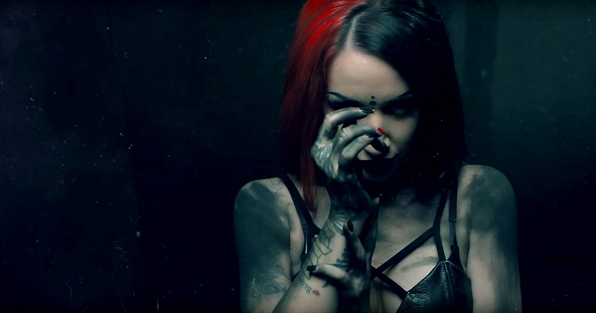 New Years Day y el vídeo de 'Malevolence'
