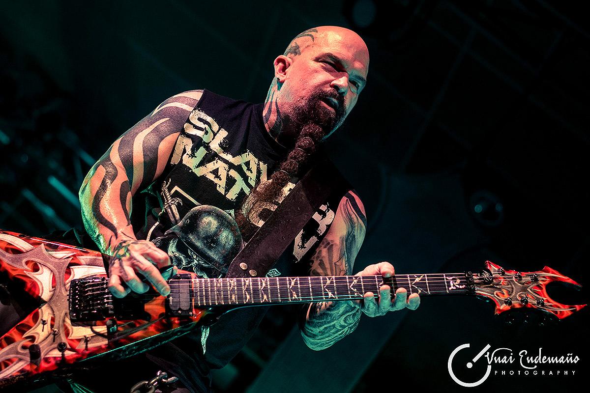 Slayer, Anthrax y Kvelertak en la sala Santana 27 (Bilbao)