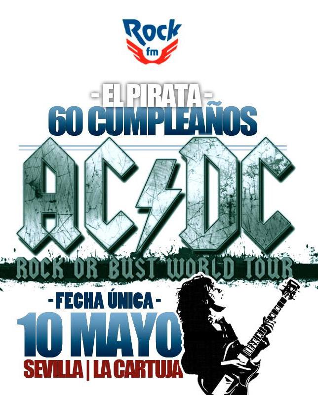 AC/DC vuelven a España en mayo del 2016