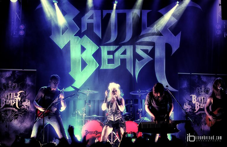Crónica de Battle Beast, Alpha Tiger y The order of chaos en Valencia
