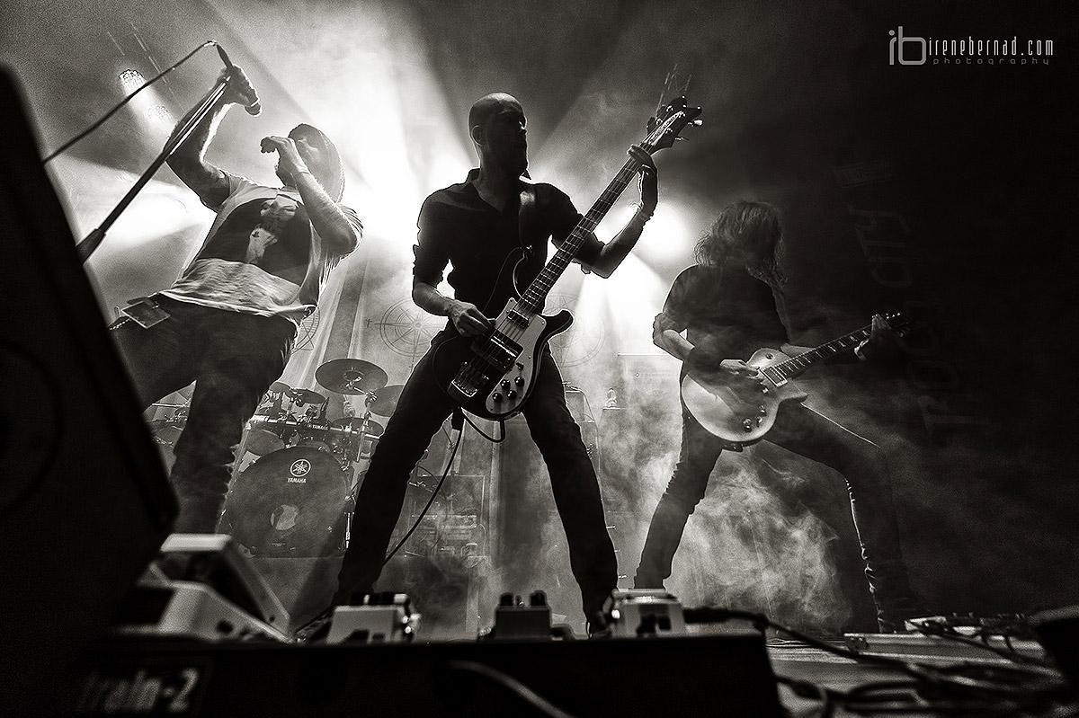 Crónica y fotos de Swallow the sun, Wolfheart y Adimiron en la Sala Rock City de Valencia