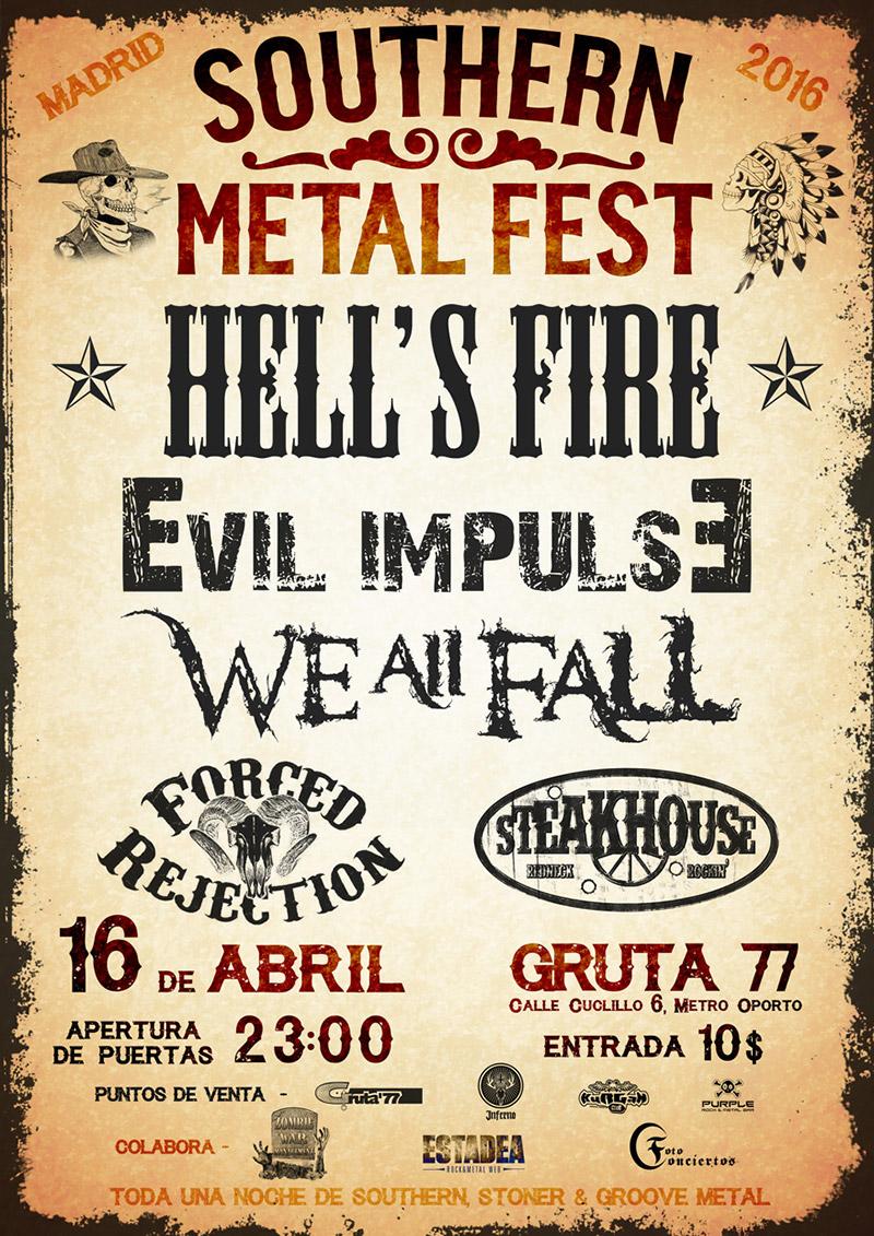 Cartel y detalles del Southern Metal Fest