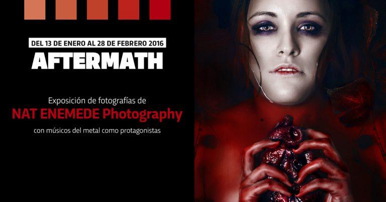 La fotógrafa Nat Enemede presenta su exposición 'Aftermath' en Valencia