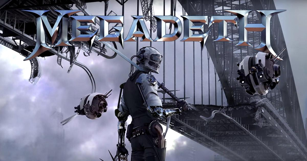 Megadeth estrenan el tema 'Dystopia'