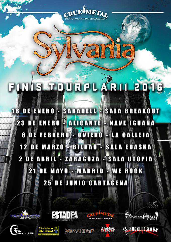 Sylvania inicia su gira nacional