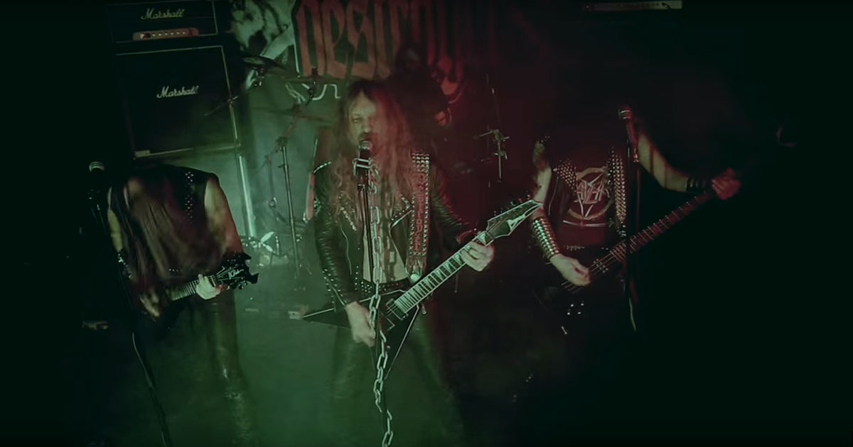 Deströyer 666 y el vídeo de 'Wildfire'