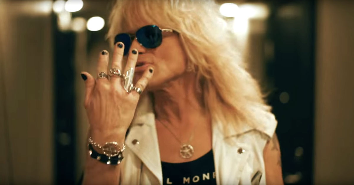 Michael Monroe y el vídeo de 'Goin' Down With The Ship'