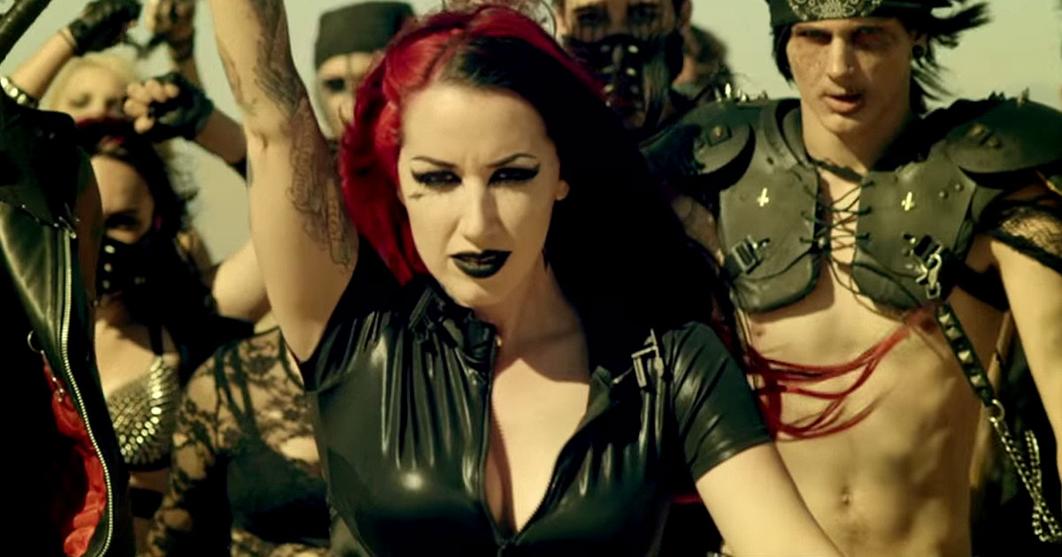 New Years Day y el vídeo de 'I'm About to Break You'